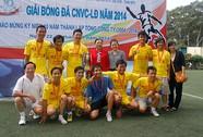 Giải bóng đá CNVC-LĐ SAMCO: Công ty CP Mê Kông đoạt chức vô địch