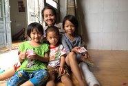 Ba trẻ một nhà không giấy khai sinh