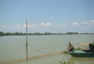 Phân lô chiếm hồ Trị An