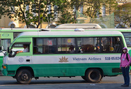 Thí điểm quảng cáo trên 10 tuyến xe buýt