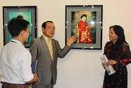 Triển lãm 30 tranh sơn mài của họa sĩ người Nhật