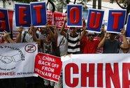 Người Việt, Philippines tuần hành phản đối Trung Quốc