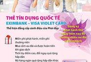 Eximbank Visa Violet Card dành cho phái đẹp