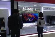 Tivi OLED uốn cong siêu mỏng