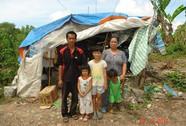 Mái lều của gia cảnh nghèo