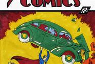 Truyện tranh Siêu nhân được bán với giá 3,2 triệu USD