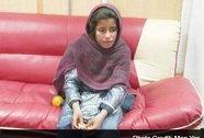 Bé gái 10 tuổi bị ép mang bom tự sát