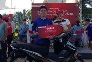 """Techcombank trao Giải nhất Chương trình """"Mở thẻ Dreamcard, trúng xe máy Honda"""""""
