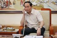 Bộ trưởng Trần Đại Quang điện đàm với Bộ trưởng CA Trung Quốc