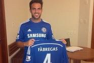 Cesc Fabregas trở lại nước Anh, đầu quân cho Chelsea