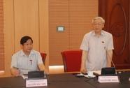 """Tổng Bí thư Nguyễn Phú Trọng: """"Khối anh sợ lấy phiếu tín nhiệm!"""""""
