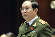 Bộ trưởng Công an Trần Đại Quang thăm Trung Quốc