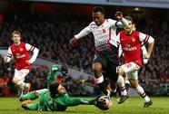 """""""Thiên tài"""" Suarez không cứu nổi thất bại của Liverpool"""