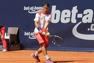 Đương kim vô địch Fognini bị loại sớm ở ATP Hamburg