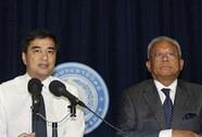 """Toà án Thái Lan """"tha"""" hai ông Suthep, Abhisit"""