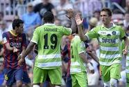 Sẩy chân trước Getafe, Barcelona sắp thành cựu vương Liga