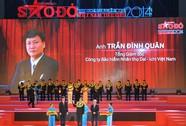 Tổng Giám đốc Dai-ichi Life Việt Nam nhận Giải thưởng 100 Doanh nhân trẻ Việt Nam tiêu biểu năm 2014