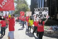 California thông qua dự luật dùng bao cao su khi đóng phim sex