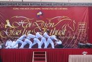 Thượng đài đấu võ mừng lễ hội Đống Đa