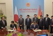 Ký thoả thuận Nhật Bản cung cấp 6 tàu tuần tra cho Việt Nam