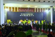 Lễ tang Thượng tướng Phạm Quý Ngọ trong thời tiết mưa lạnh