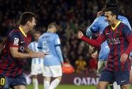 Giành chiến thắng 3 sao, Barca trở lại ngôi đầu Liga