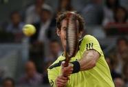 Murray vất vả vào vòng ba Madrid Open, Tsonga chia tay thất vọng