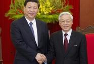 Tổng Bí thư Nguyễn Phú Trọng điện đàm với Chủ tịch Tập Cận Bình