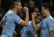 Negredo lập hat-trick, Man City nhấn chìm West Ham