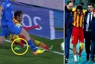 Barcelona vào tứ kết trong nỗi lo mất Neymar