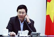 Phó Thủ tướng Phạm Bình Minh điện đàm với người đồng cấp Trung Quốc