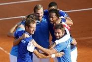 Davis Cup: Đương kim vô địch CH Czech chính thức mất ngôi