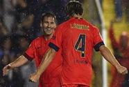 Thắng đậm Levante 5-0, Barcelona trở lại ngôi đầu