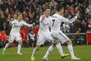 Ronaldo cứu Real thoát hiểm trận derby thành Madrid