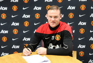 Wayne Rooney ký hợp đồng mới 5 năm rưỡi với M.U