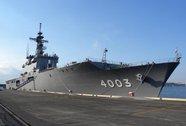 Soái hạm Mỹ diễn tập với tàu đổ bộ Nhật trên biển Đông