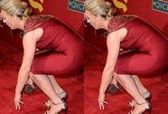 """Nữ diễn viên """"vồ ếch"""" trên thảm đỏ"""