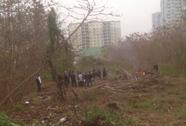 Tìm tung tích nạn nhân quấn trong chăn gần trụ sở CA huyện