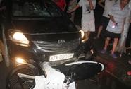 Gây tai nạn, xế hộp tháo chạy kéo lê xe máy gần 4 km
