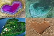 Ngắm những trái tim kỳ diệu của thiên nhiên