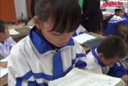 Nghệ An phản bác vụ học sinh không biết chữ vẫn lên lớp 4