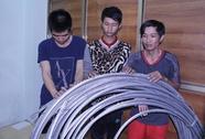CSCĐ tóm gọn 3 công nhân trộm dây cáp điện 110 KV