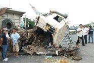 2 vụ tai nạn trên đường ĐT741, 1 người chết, 3 bị thương