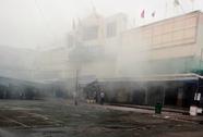 Cháy chợ Hạnh Thông Tây, tiểu thương cuống cuồng di dời