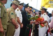 Tàu đổ bộ của Hải quân Nhật Bản đến Việt Nam