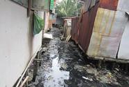 Sống chung nước ngập, rác bẩn