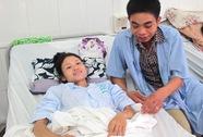 Cô dâu đám cưới trong bệnh viện đã xuất viện