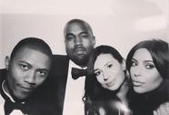 """Kim """"siêu vòng ba"""" đã cưới Kanye West"""