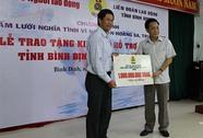 Trao 1,5 tỉ đồng hỗ trợ ngư dân vươn khơi