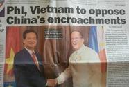 """Báo chí quốc tế nhấn mạnh Việt Nam - Philippines """"bắt tay"""""""
